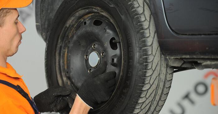 Radlager Polo 9n 1.4 TDI 2003 wechseln: Kostenlose Reparaturhandbücher