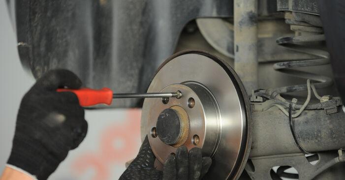 Wie schwer ist es, selbst zu reparieren: Radlager Polo 9n 1.4 16V 2007 Tausch - Downloaden Sie sich illustrierte Anleitungen