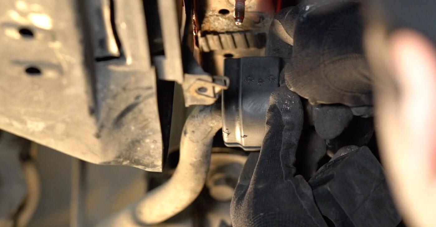 3 Convertible (E46) 323Ci 2.5 2002 Gumice Stabilizatorja DIY menjava, priročnik delavnice