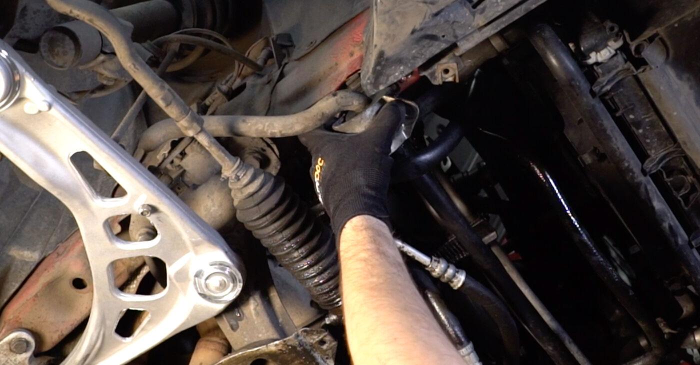 Priporočila korakov za DIY zamenjavo BMW 3 Convertible (E46) 2004 323Ci 2.5 Gumice Stabilizatorja
