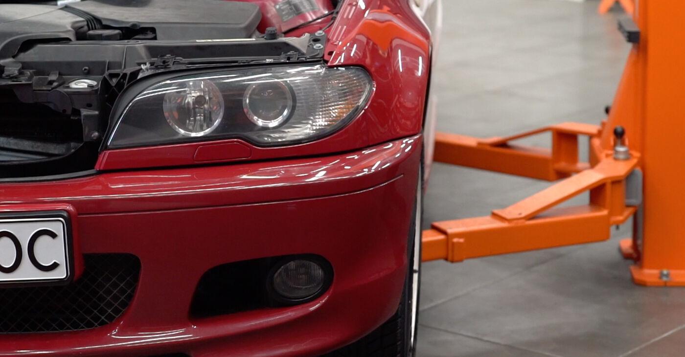 BMW 3 Convertible (E46) 320Ci 2.2 2003 Gumice Stabilizatorja zamenjava: brezplačni priročnik delavnice