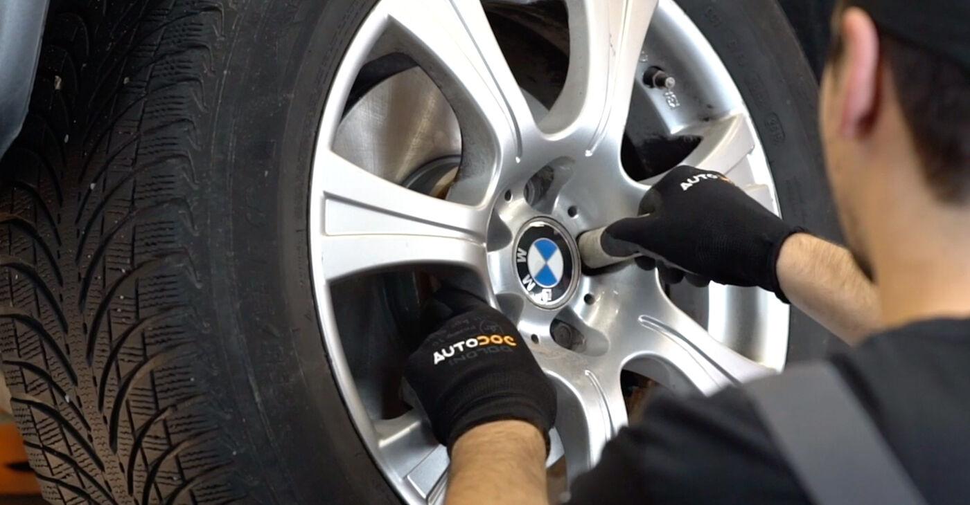 Patstāvīga BMW X5 (E53) 4.6 is 2003 Svira nomaiņa