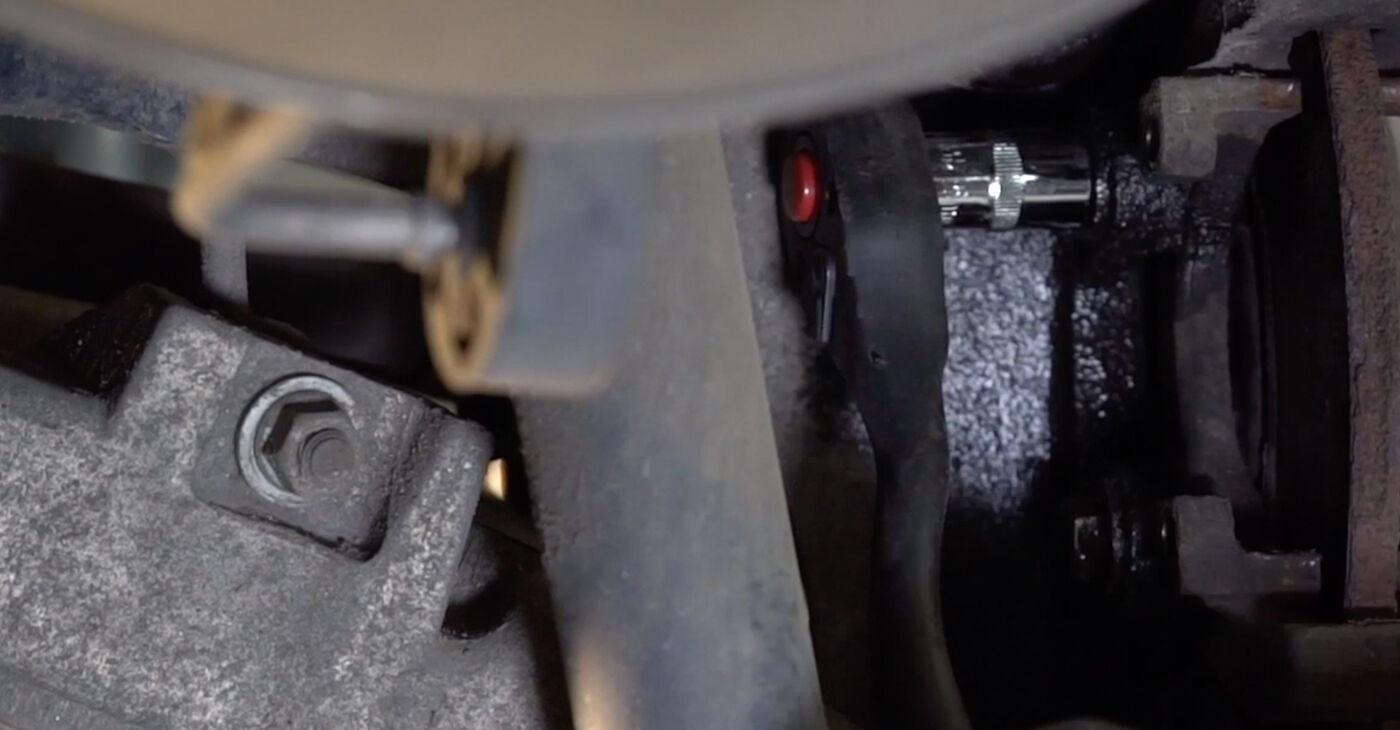 Kā nomainīt BMW X5 (E53) 3.0 d 2001 Bremžu diski - pakāpeniskās rokasgrāmatas un video ceļveži
