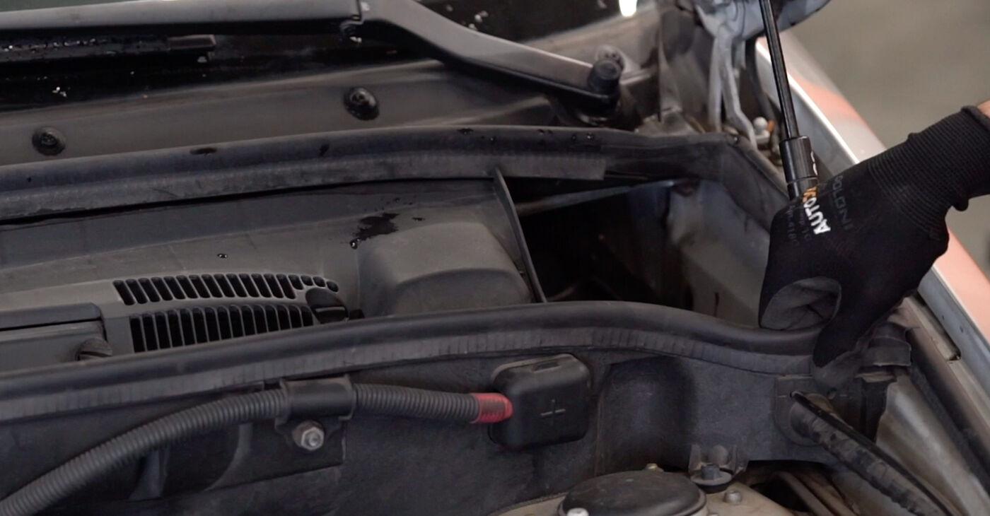 Kuidas asendada BMW X5 (E53) 3.0 d 2001 Piduriketas - üksikasjalikud juhendid ja videojuhendid