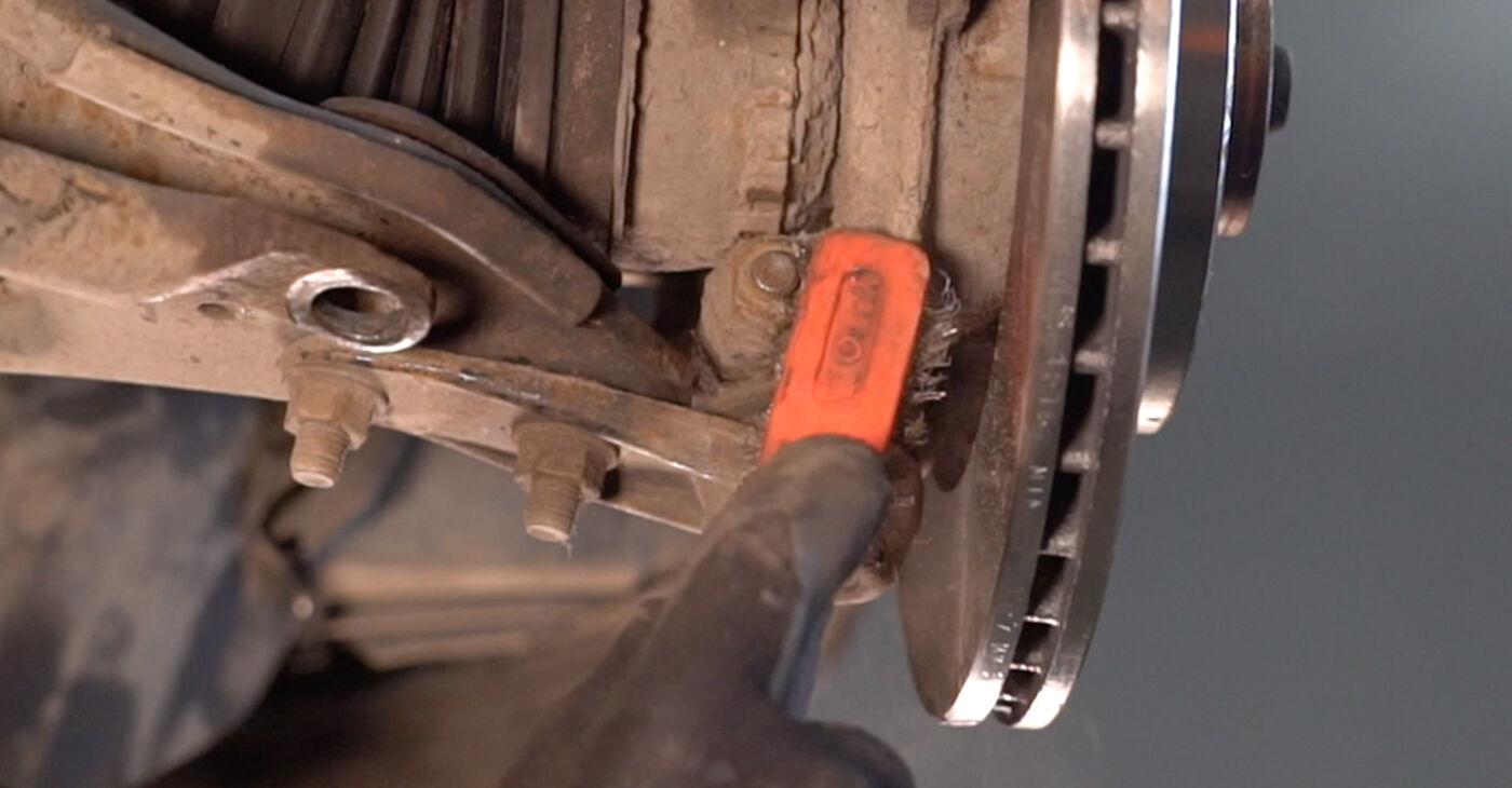 RENAULT CLIO 2005 Vikšro Valdymo Svirtis išsami keitimo instrukcija