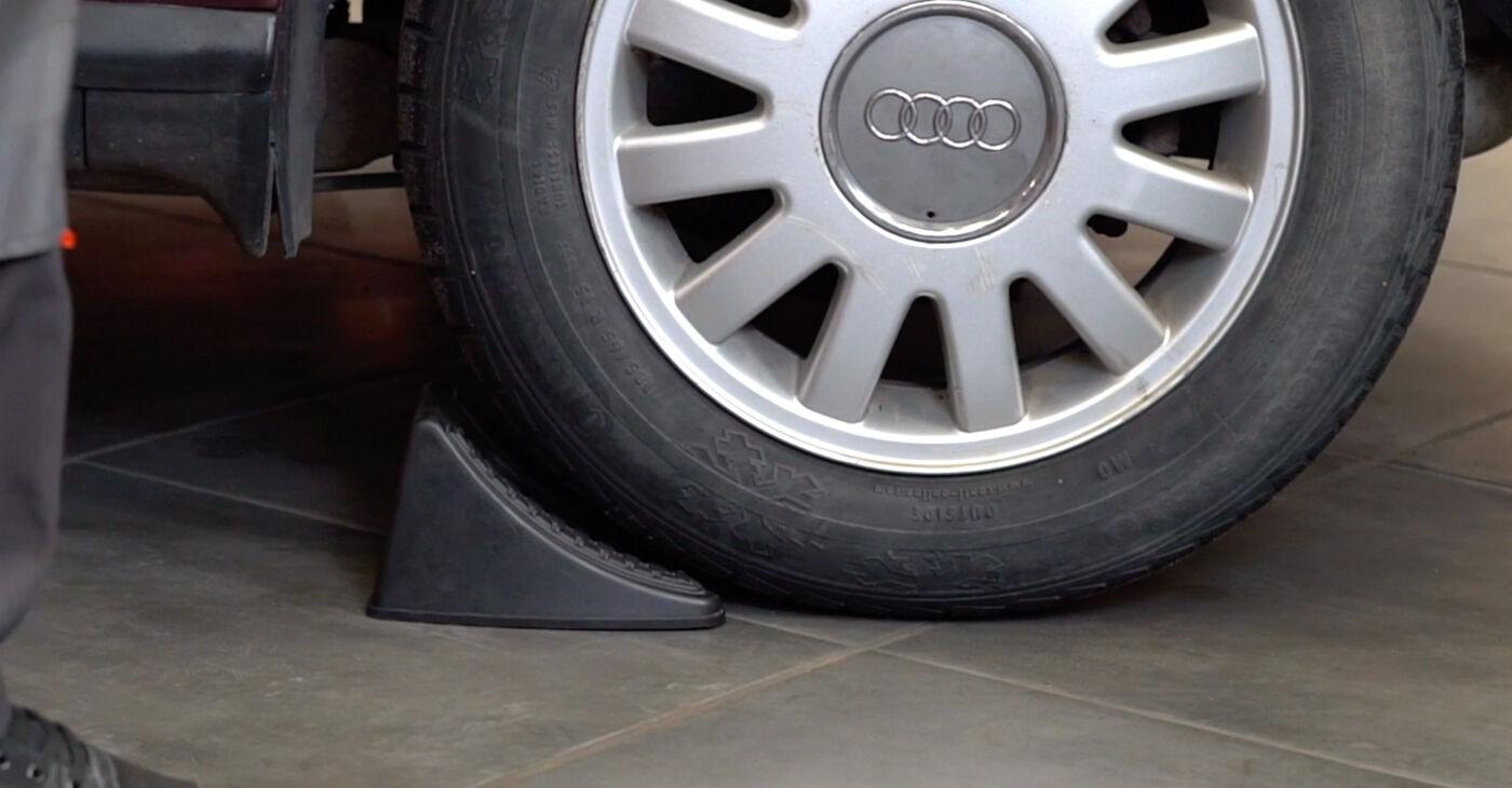 Kiek užtrunka keitimas: Audi A3 8l1 1996 Stabdžių diskas - informatyvi PDF instrukcija