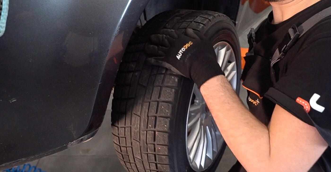 Substituição de FIAT BRAVA 1.4 Molas: guias online e tutoriais em vídeo