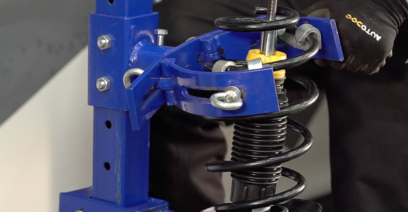 Recomendações passo a passo para a substituição de FIAT BRAVO II (198) 2019 1.4 LPG Molas por si mesmo