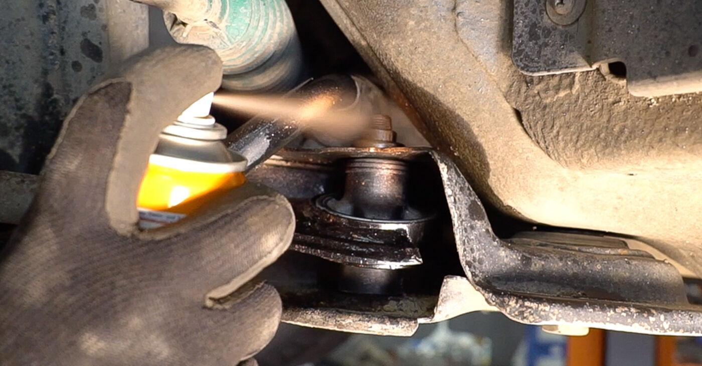 Sostituire Braccio Oscillante su FIAT BRAVO II (198) 1.4 2020 non è più un problema con il nostro tutorial passo-passo