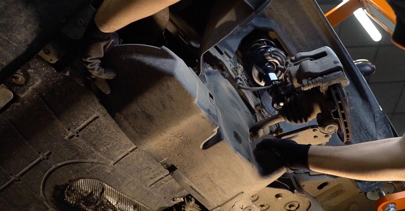 Quanto è difficile il fai da te: sostituzione Braccio Oscillante su FIAT BRAVO II (198) 1.9 D Multijet 2012 - scarica la guida illustrata