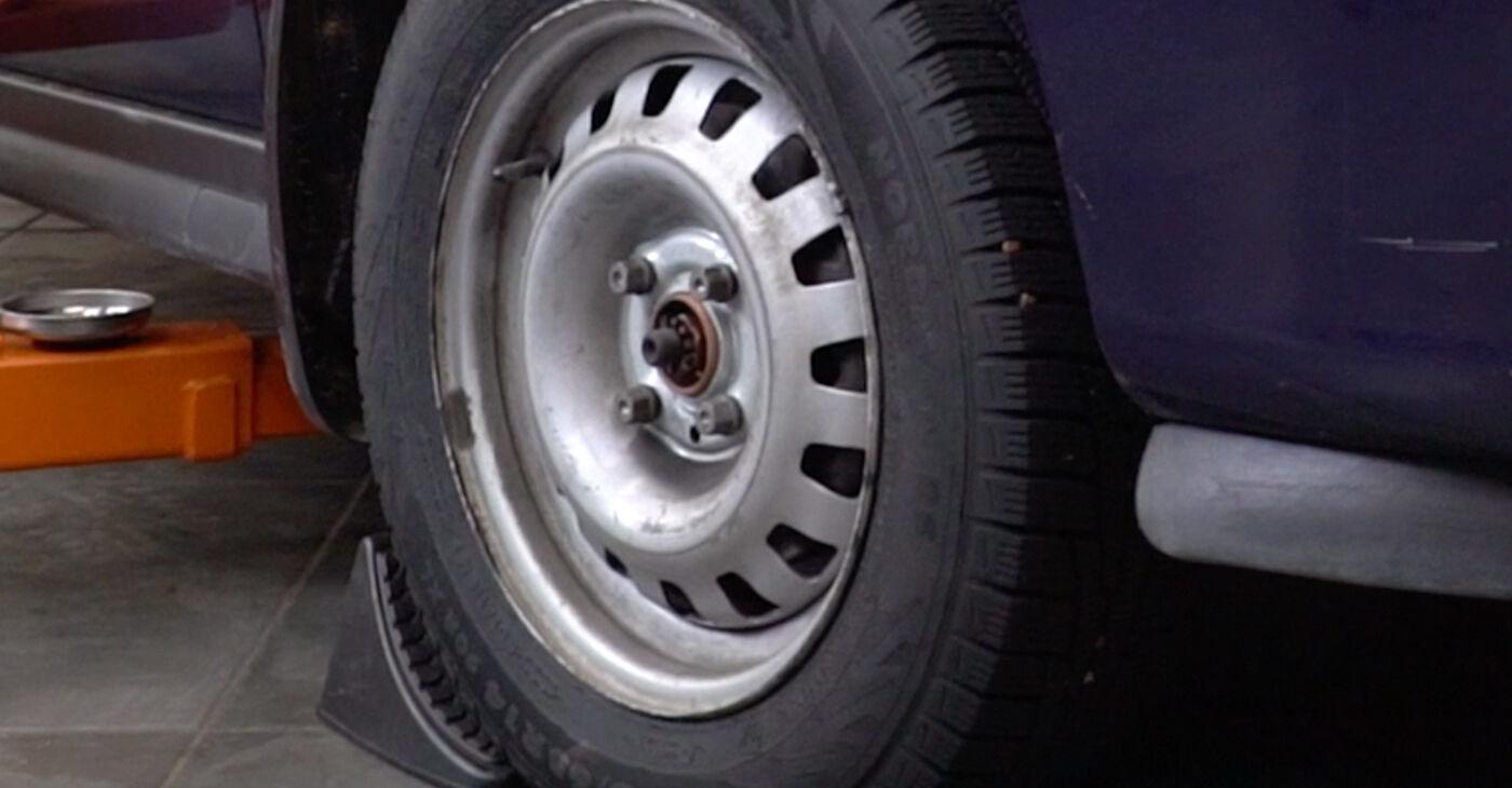 Kā nomainīt Stabilizatora Bukses Opel Astra g f48 1998 - bezmaksas PDF un video rokasgrāmatas