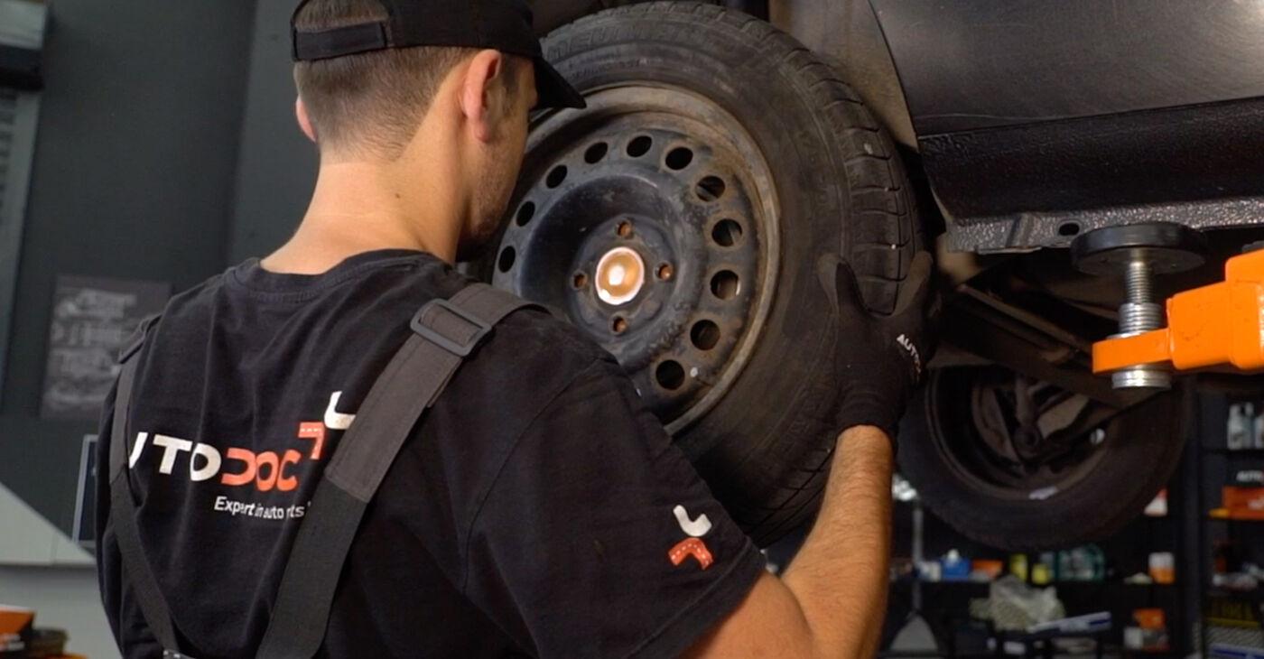 RENAULT CLIO 2005 Support Moteur manuel de remplacement étape par étape