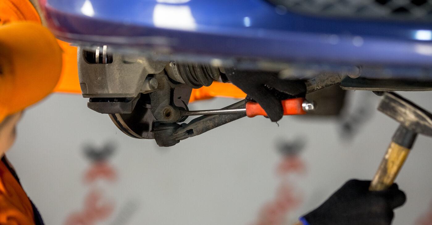 Ford Fiesta V jh jd 2001 1.4 TDCi Vikšro Valdymo Svirtis keitimas savarankiškai