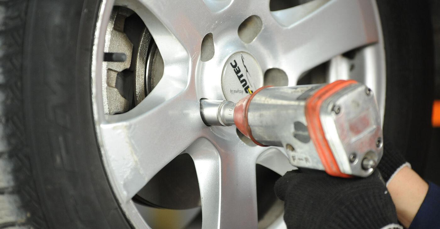 Asendades Nissan X Trail t30 2011 2.2 dCi 4x4 Piduriketas ise