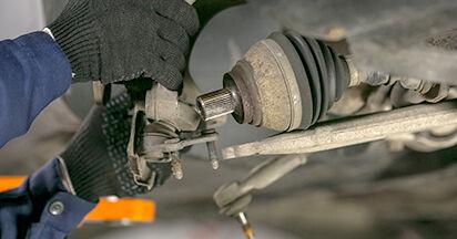 Savarankiškas VW PASSAT Variant (3C5) 2.0 FSI 2008 Amortizatoriaus Atraminis Guolis keitimas