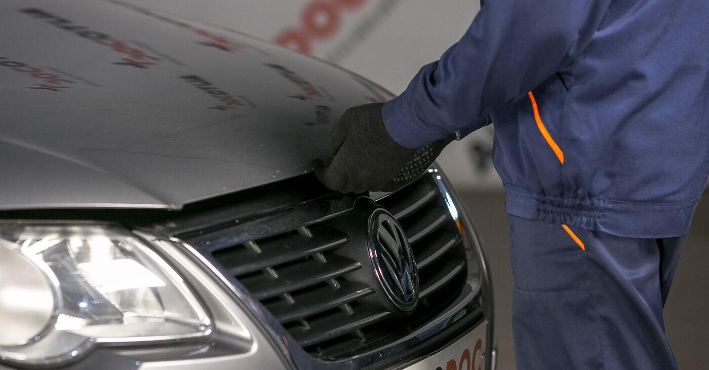 Kaip pakeisti Amortizatoriaus Atraminis Guolis VW PASSAT Variant (3C5) 2010: atsisiųskite PDF instrukciją ir vaizdo pamokas