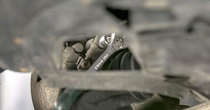 VW PASSAT 2006 Amortizatoriaus Atraminis Guolis išsami keitimo instrukcija