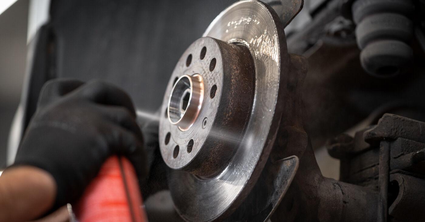 Kiek užtrunka keitimas: VW Caddy 3 Universalas 2012 Rato guolis - informatyvi PDF instrukcija