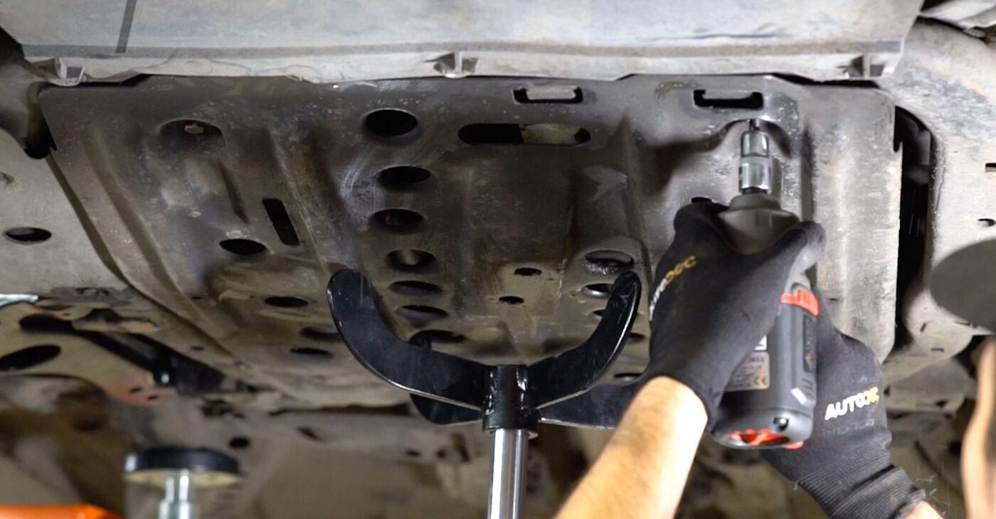 ASTRA G Hatchback (F48_, F08_) 1.7 DTI 16V (F08, F48) 2009 Motora stiprinājums patstāvīgas nomaiņas remonta rokasgrāmata