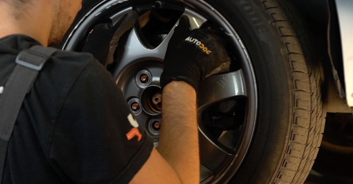 PRIUS Hatchback (NHW20_) 1.5 (NHW2_) 2007 Bremžu diski patstāvīgas nomaiņas remonta rokasgrāmata