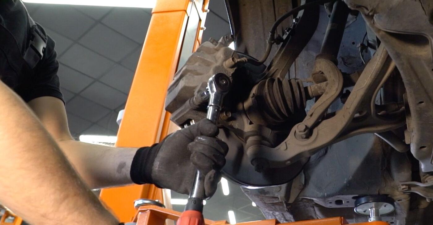 Como trocar Pastilhas De Travão no Honda Accord VIII CU 2008 - manuais gratuitos em PDF e vídeo