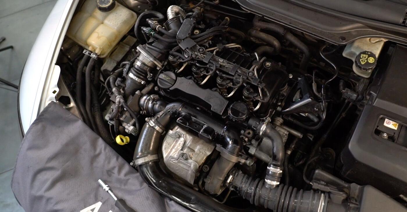 Volvo v50 mw 1.6 D 2005 Degvielas filtrs nomaiņa: bezmaksas remonta rokasgrāmatas