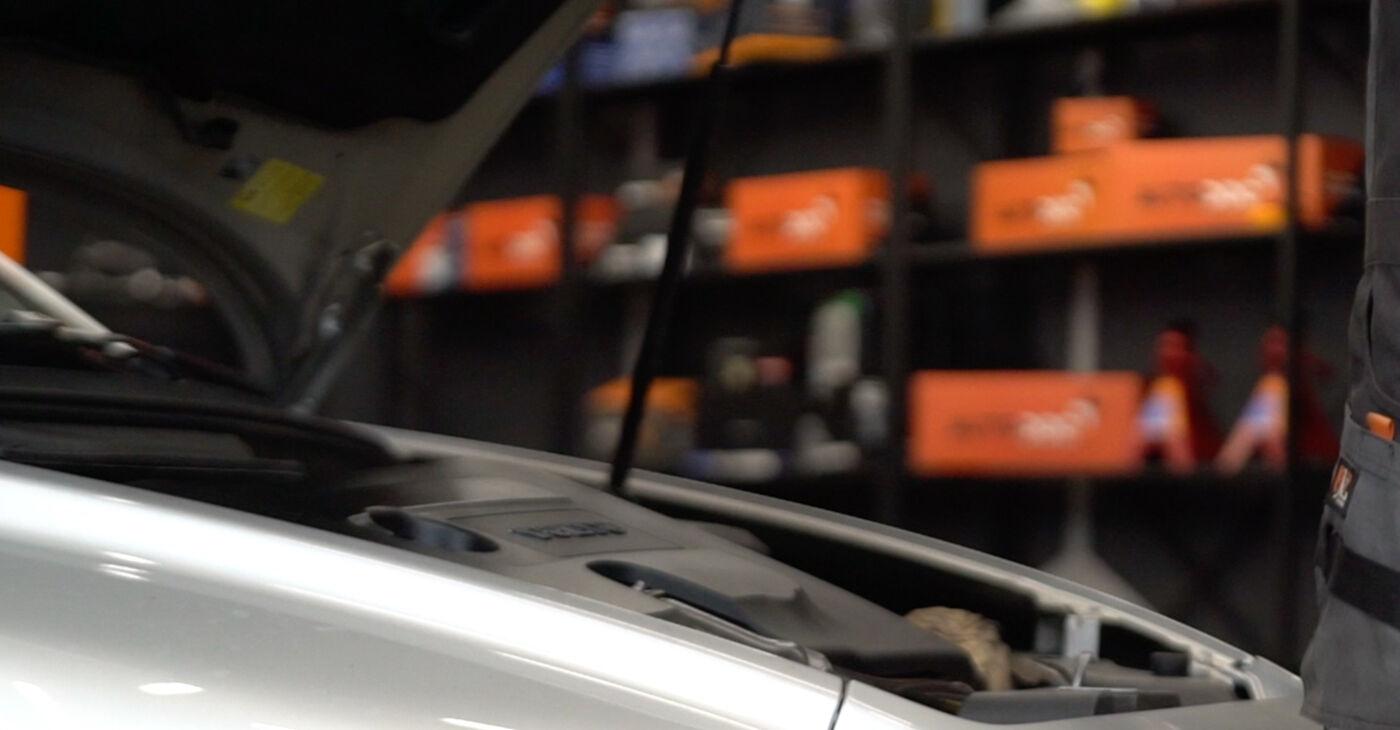 Wie Stoßdämpfer beim Volvo v50 mw 2003 gewechselt werden - Unentgeltliche PDF- und Videoanweisungen