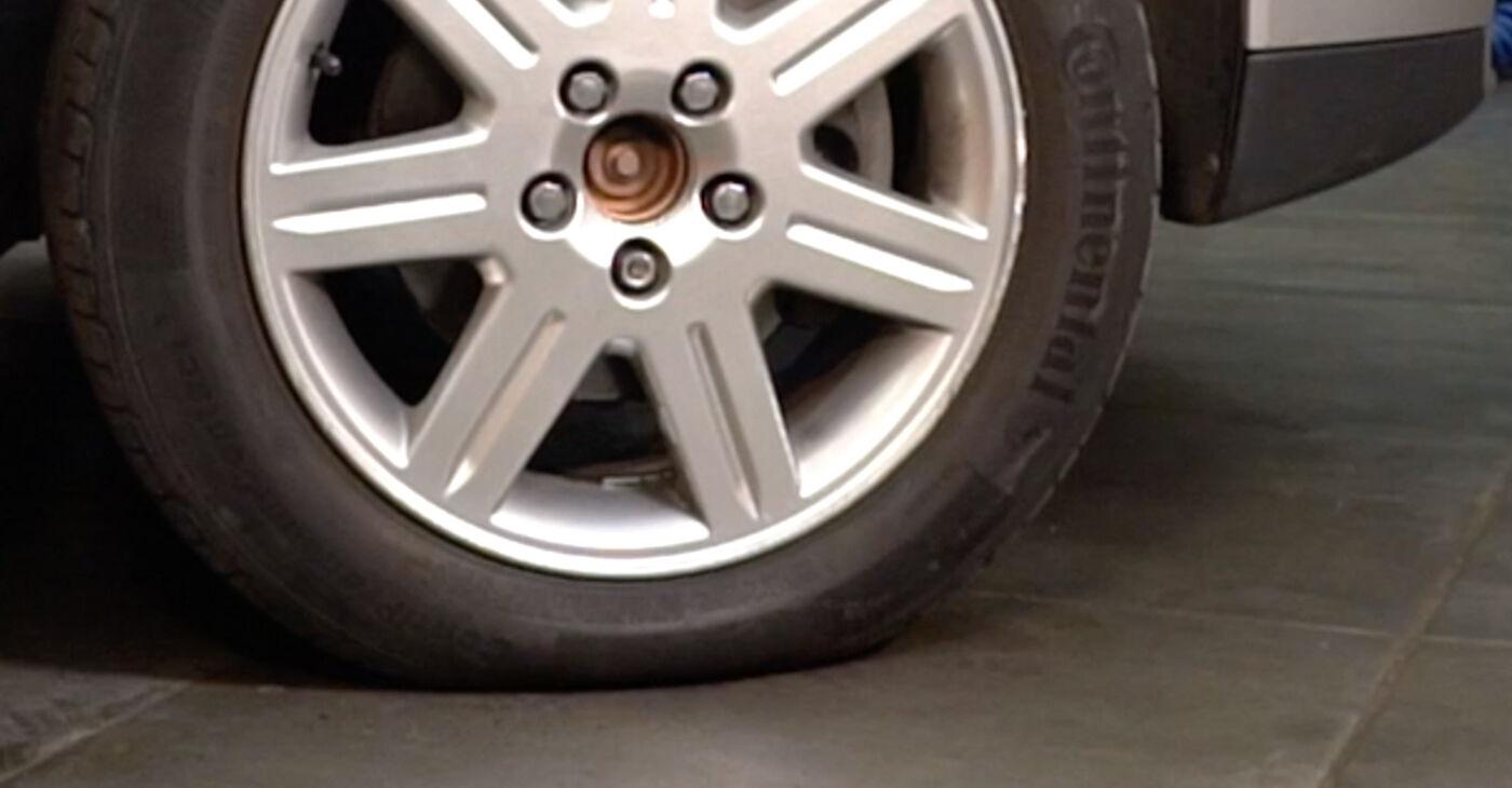 Stufenweiser Leitfaden zum Teilewechsel in Eigenregie von Volvo v50 mw 2006 1.8 FlexFuel Stoßdämpfer