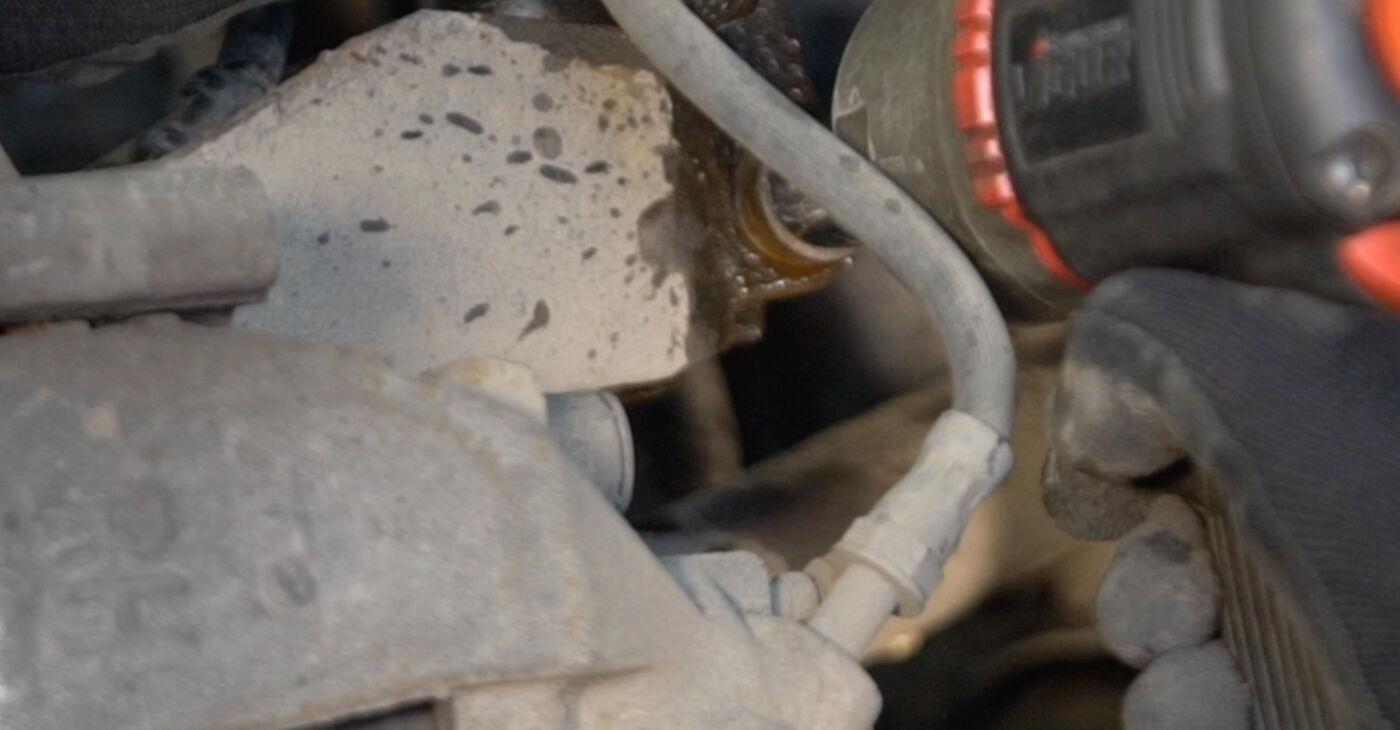Substituição de Volvo v50 mw 1.6 D 2005 Molas: manuais gratuitos de oficina