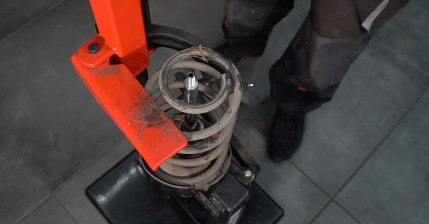 Trocar Molas no VOLVO V50 (MW) 2.4 2006 por conta própria