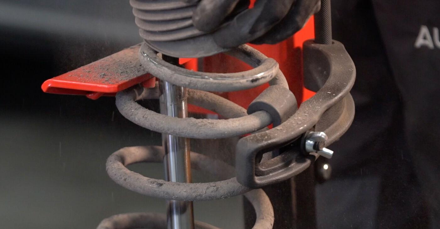 Consigli passo-passo per la sostituzione del fai da te Zafira b a05 2007 1.6 CNG (M75) Ammortizzatori