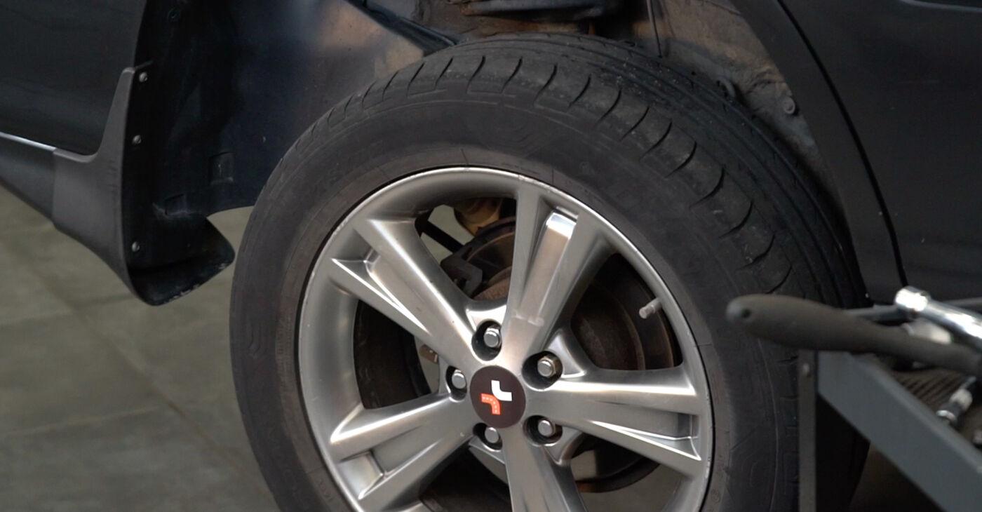 Kako težko to naredite sami: Blazilnik zamenjava na Lexus RX XU30 330 (MCU38_) 2003 - prenesite slikovni vodnik