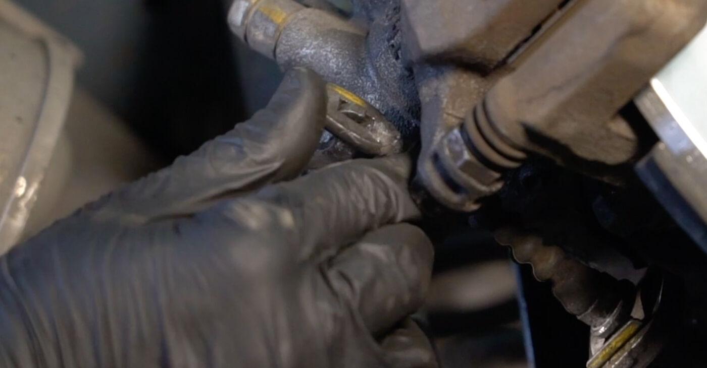 Honda Insight ZE2/ZE3 1.3 Hybrid (ZE2) 2011 Τακάκια Φρένων αντικατάσταση: δωρεάν εγχειρίδια συνεργείου