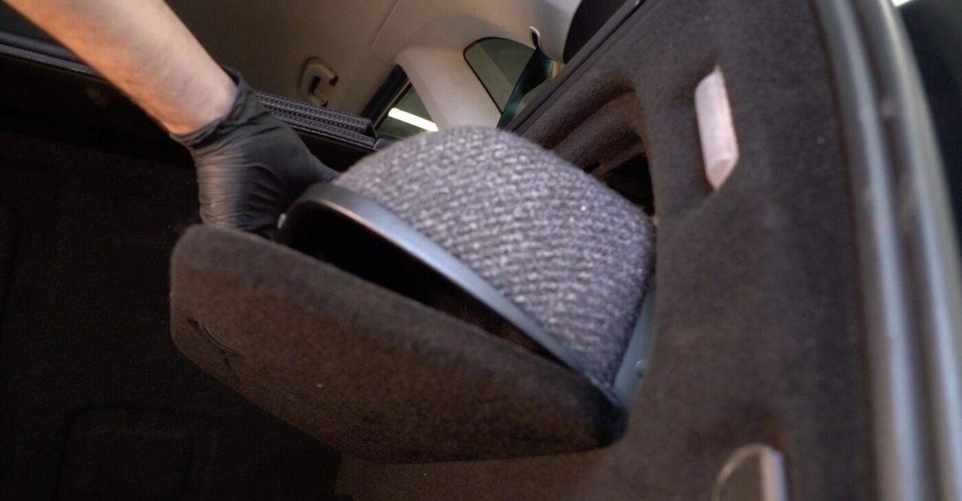 Mercedes W245 B 200 CDI 2.0 (245.208) 2006 Blazilnik zamenjava: brezplačni priročnik delavnice