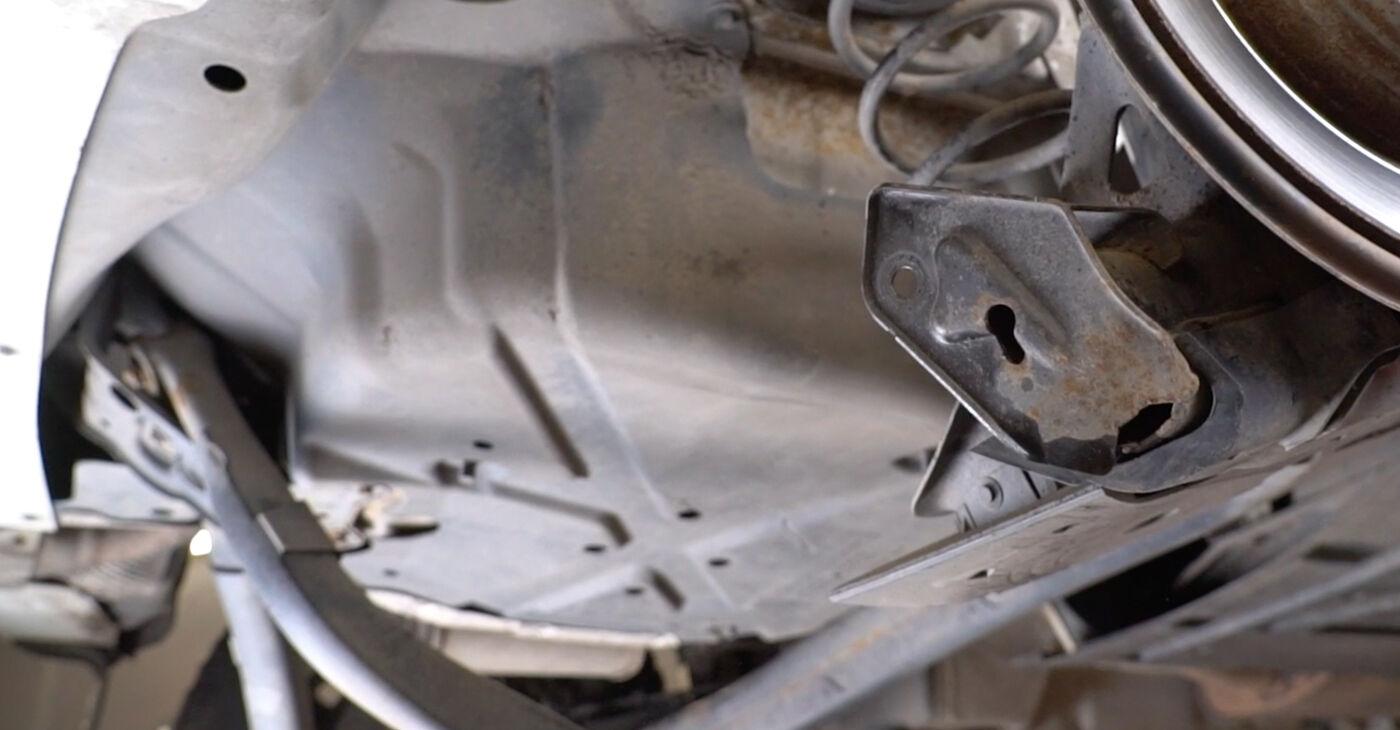 Kā nomainīt Piekare Mercedes W245 2005 - bezmaksas PDF un video rokasgrāmatas