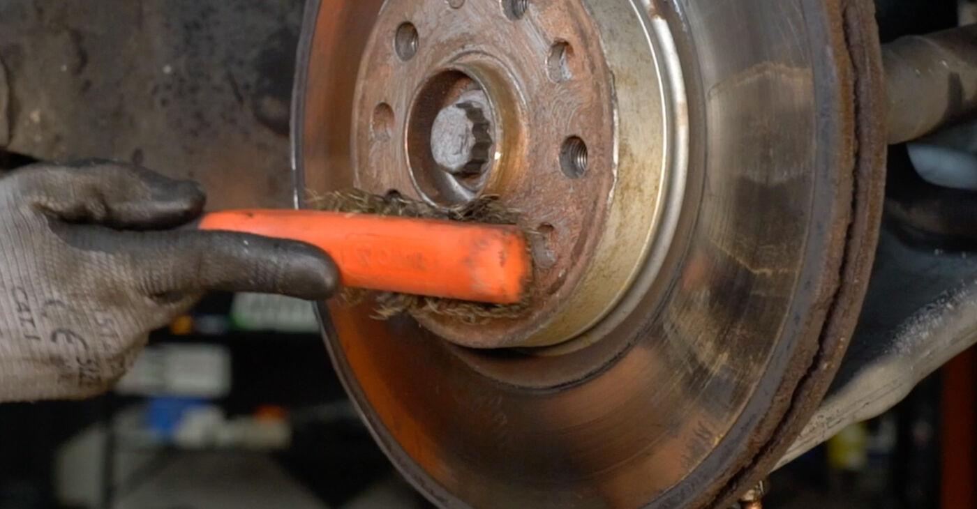 VW SHARAN 2002 Radlager Schritt-für-Schritt-Tutorial zum Teilewechsel