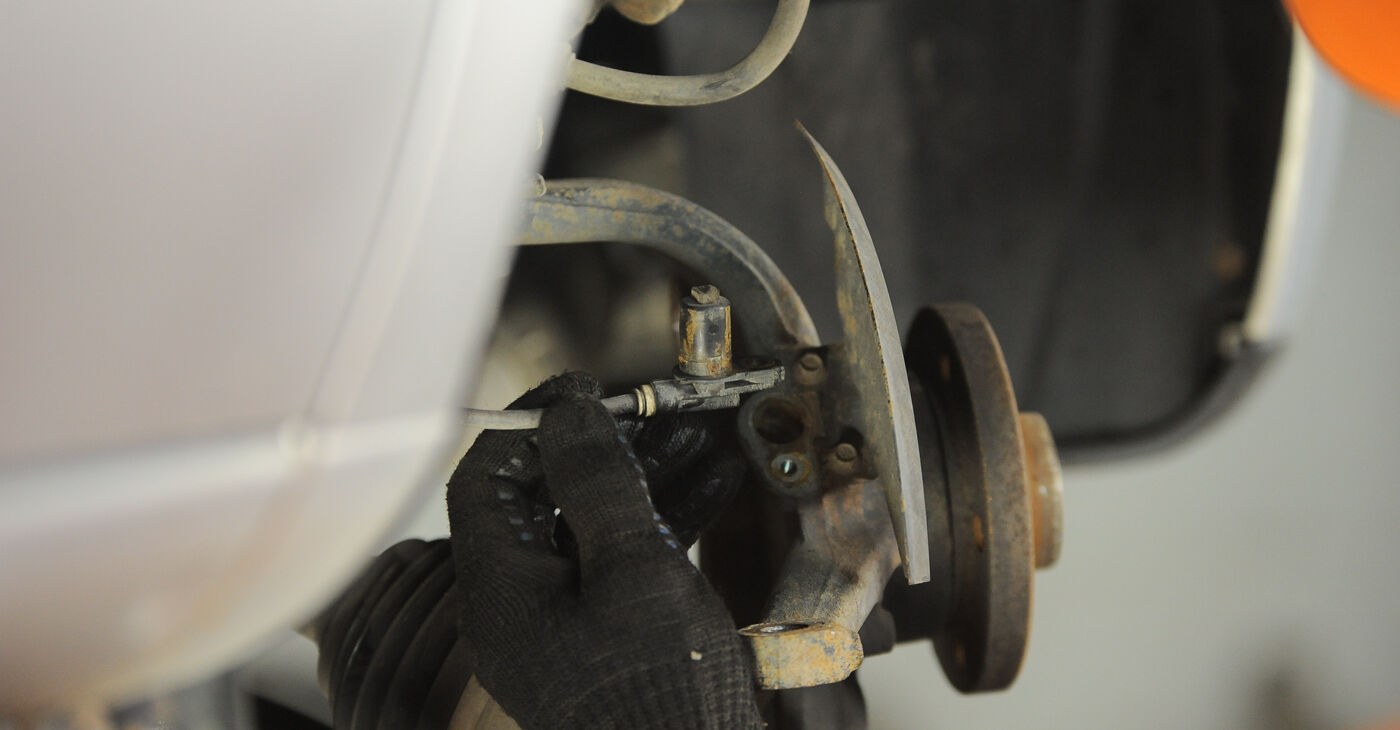 VW Sharan 1 2.0 TDI 1997 Radlager wechseln: Gratis Reparaturanleitungen