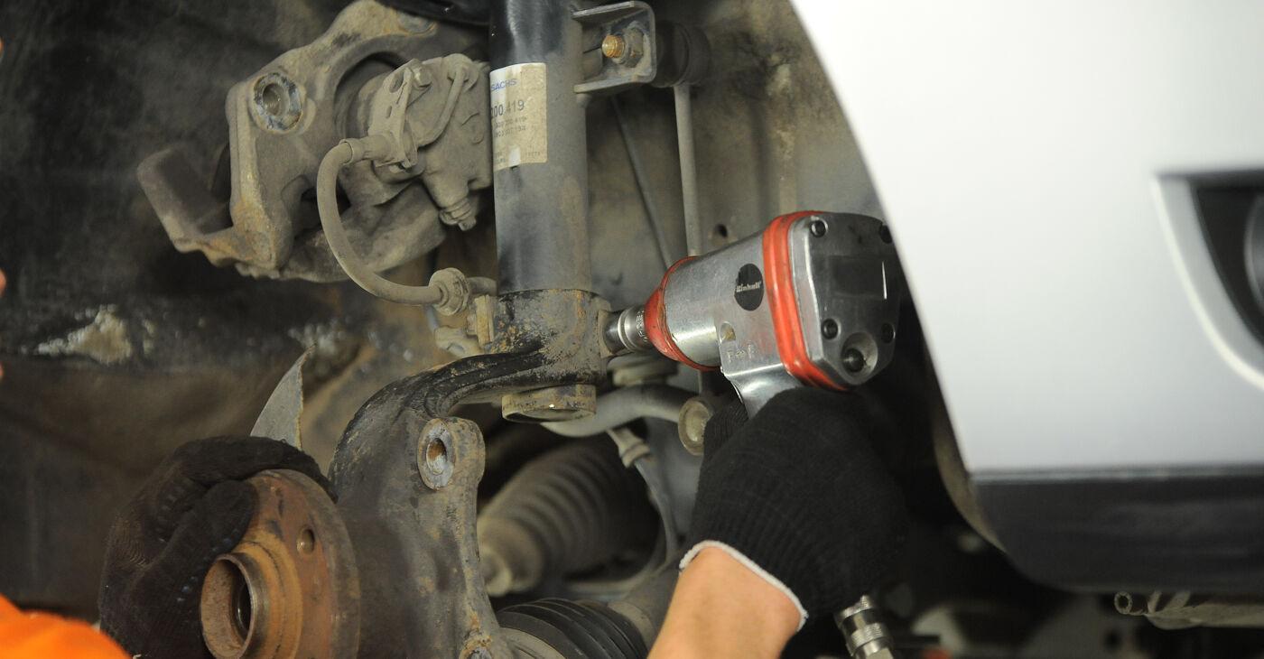 Kuidas vahetada välja VW SHARAN (7M8, 7M9, 7M6) 2007 Rattalaager - näpunäited ja trikkid