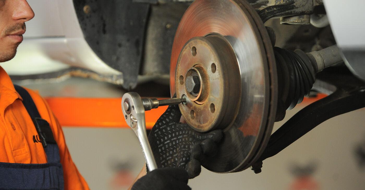 VW SHARAN 2.0 TDI Radlager austauschen: Handbücher und Video-Anleitungen online