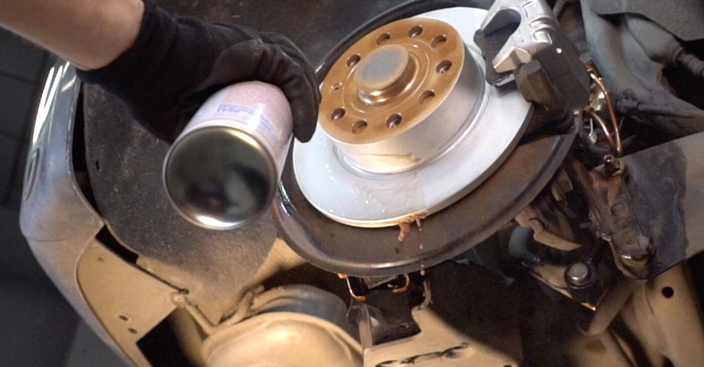Wie man Radlager beim VW Sharan 1 1995 wechselt - Gratis PDF- und Video-Tutorials