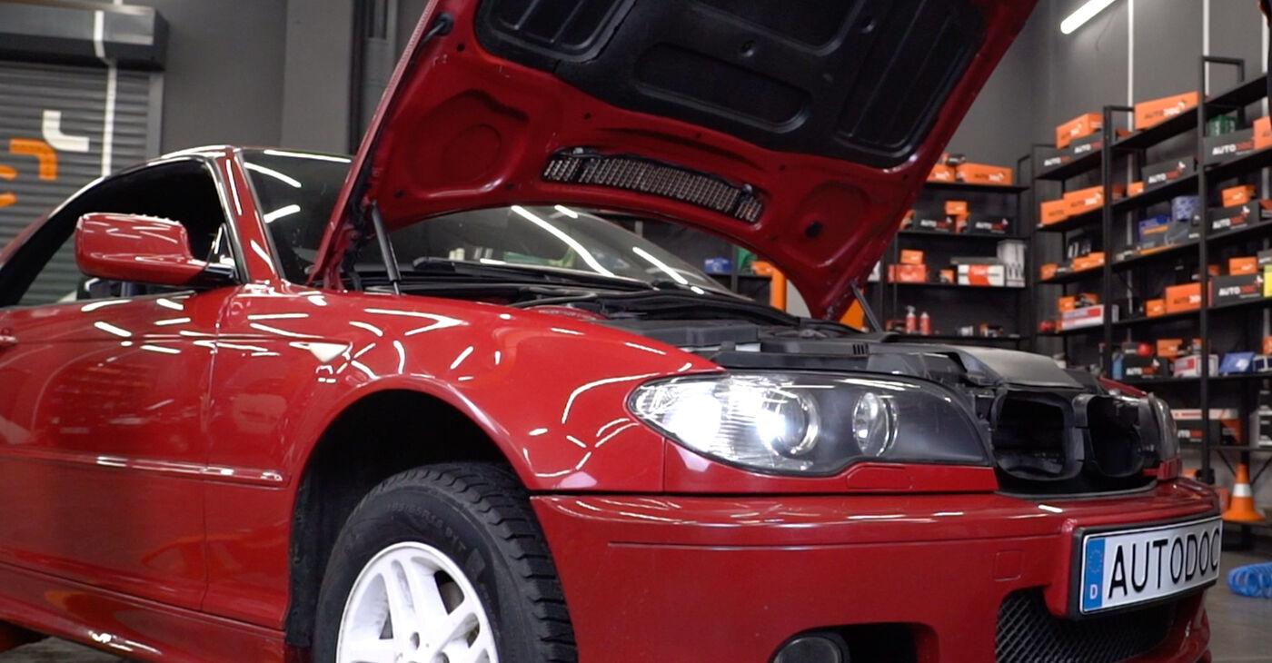 Kā nomainīt Bremžu šļūtene BMW 3 Convertible (E46) 1998 - bezmaksas PDF un video rokasgrāmatas
