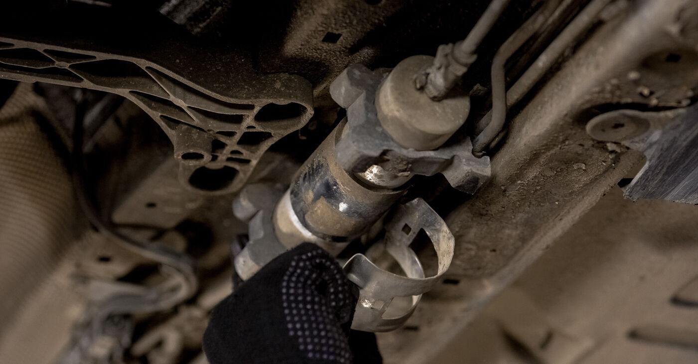 Patstāvīga BMW 3 (E46) 318i 1.9 1997 Degvielas filtrs nomaiņa