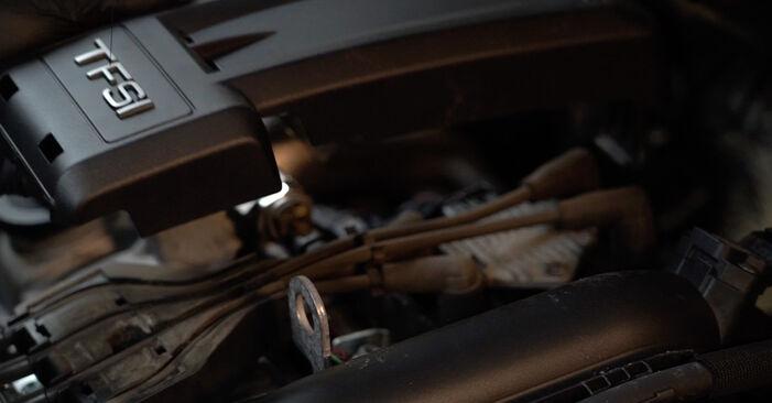 Zündkerzen Audi A3 8p1 1.6 2005 wechseln: Kostenlose Reparaturhandbücher