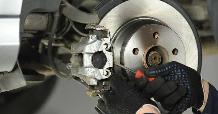 How hard is it to do yourself: Brake Pads replacement on Mercedes W211 E 320 CDI 3.0 (211.022) 2008 - download illustrated guide