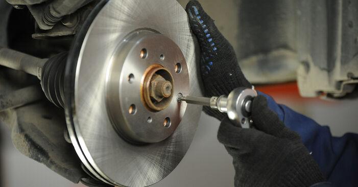 Bremsscheiben SUZUKI SWIFT III (MZ, EZ) 1.6 (RS 416) 2007 wechseln: Kostenlose Reparaturhandbücher