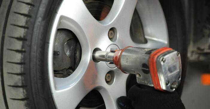 Wechseln Bremsscheiben am SUZUKI SWIFT III (MZ, EZ) 1.5 (RS 415) 2008 selber