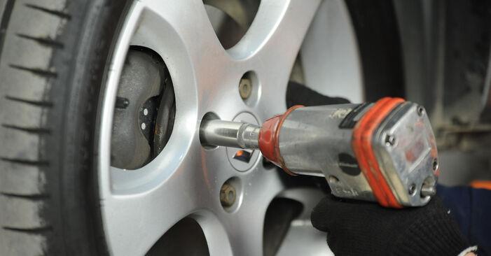 Wechseln Bremsbeläge am SUZUKI SWIFT III (MZ, EZ) 1.5 (RS 415) 2008 selber