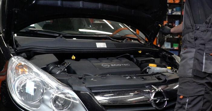 Πώς να αλλάξετε Φίλτρο καυσίμων σε Opel Corsa D 2006 - δωρεάν εγχειρίδια PDF και βίντεο οδηγιών