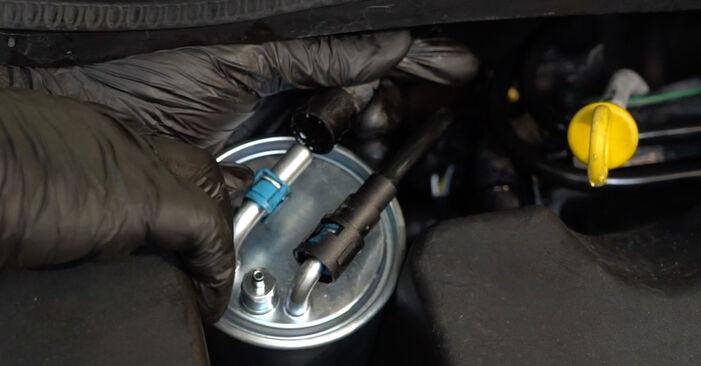 Πώς αλλαγη Φίλτρο καυσίμων σε OPEL Corsa D Hatchback (S07) 2009 - συμβουλές και κόλπα