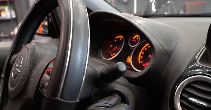 Πώς να αντικαταστήσετε OPEL Corsa D Hatchback (S07) 1.3 CDTI (L08, L68) 2007 Φίλτρο καυσίμων - εγχειρίδια βήμα προς βήμα και οδηγοί βίντεο